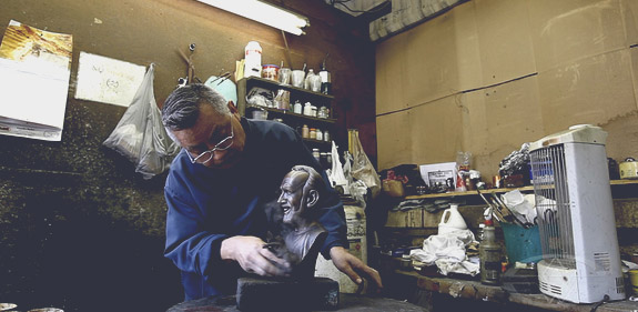 Bronze Sculpture Patination