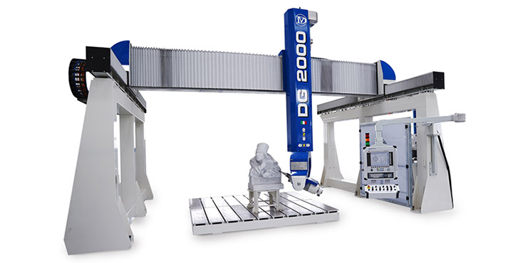 5 Axis CNC Machine Sculpture